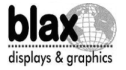 logo de Blax Displays & Graphics