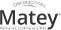 logo de Decoraciones Matey-Persianas