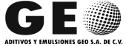 Logotipo de Aditivos y Emulsiones GEO